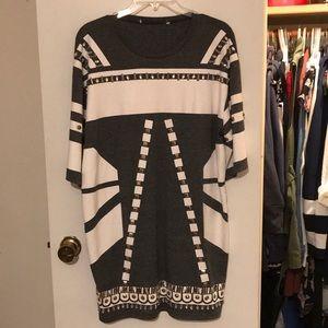Embellished T-shirt Dress